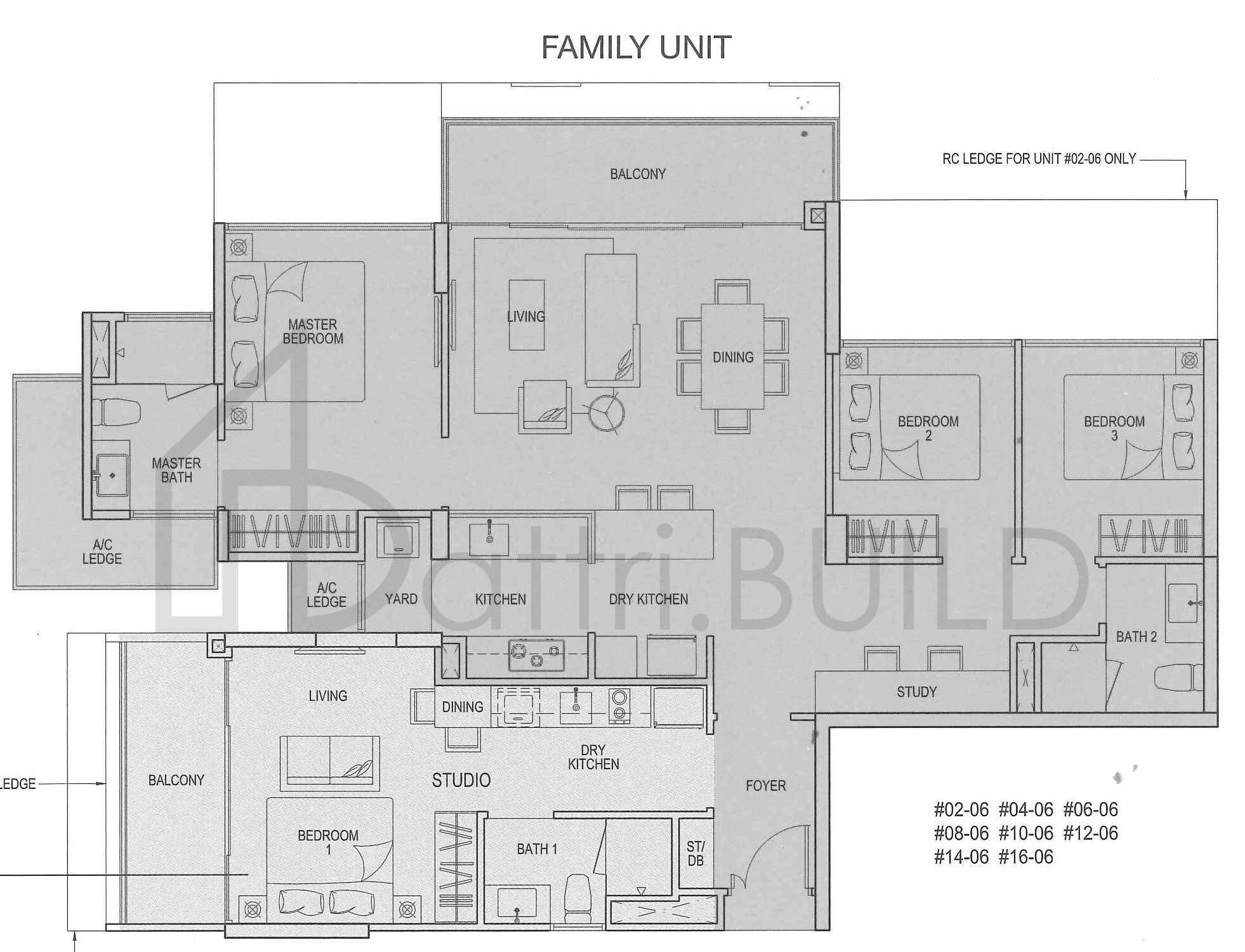 RIVER ISLES, 8 Bedroom, Type DS8(DK)