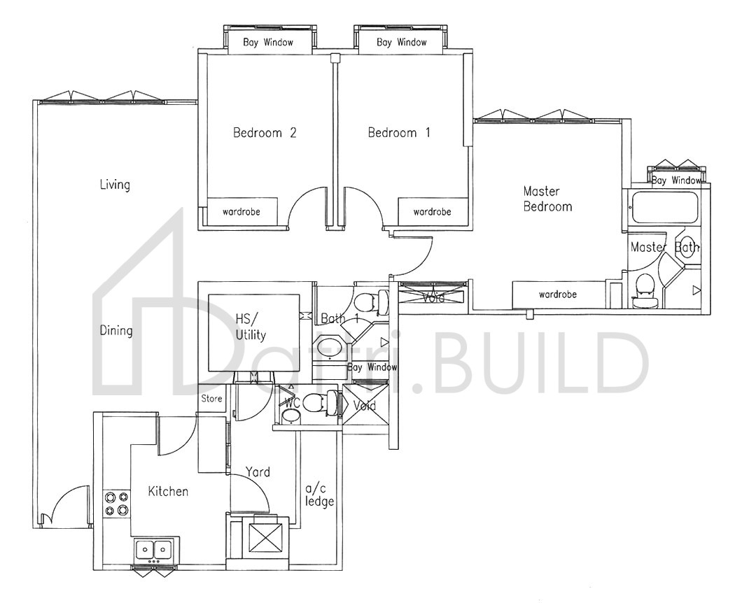 Bishan Loft 3 Bedroom Type A1