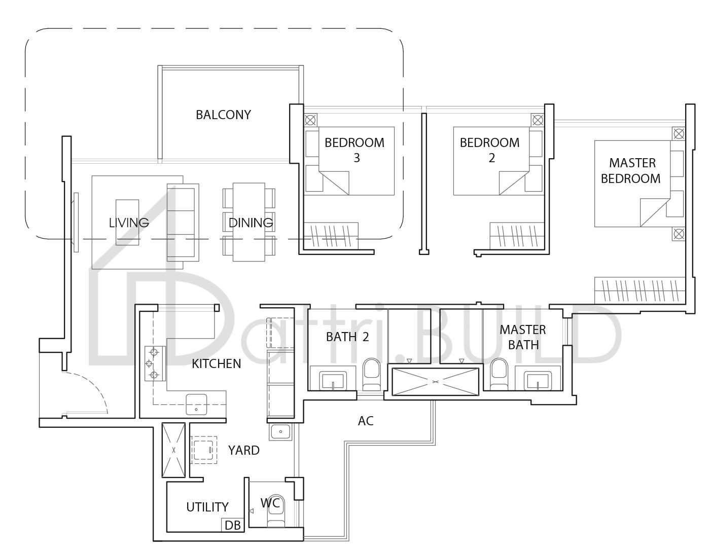 The Vales 3 Bedroom Type B3