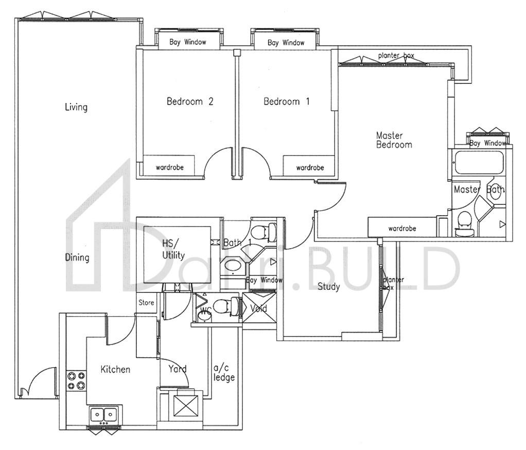 Bishan Loft 3 Bedroom Type B2