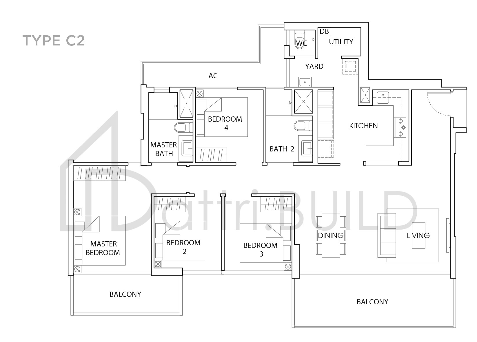 The Vales 4 Bedroom Type C2