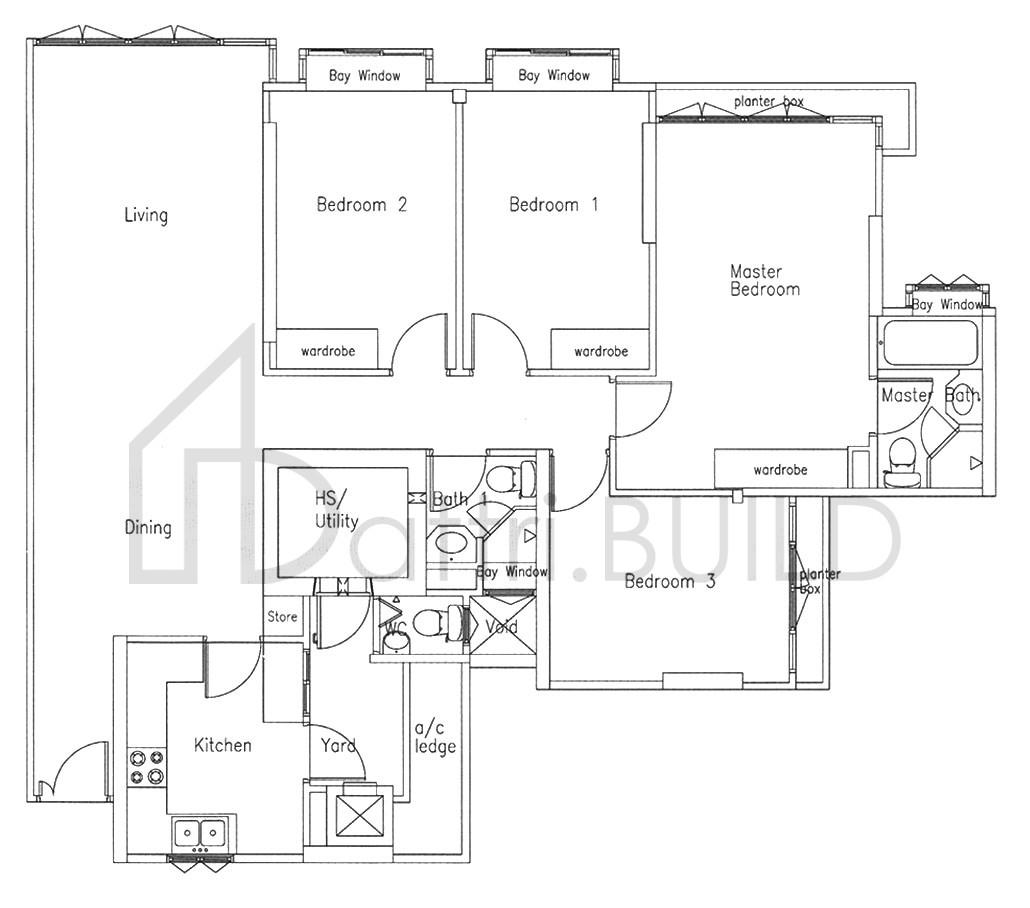 Bishan Loft 4 Bedroom Type C1