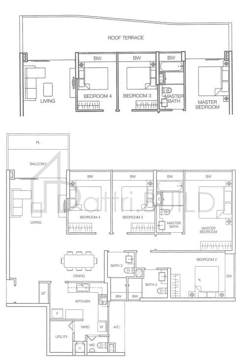 Caspian 4 Bedroom Type E2t1