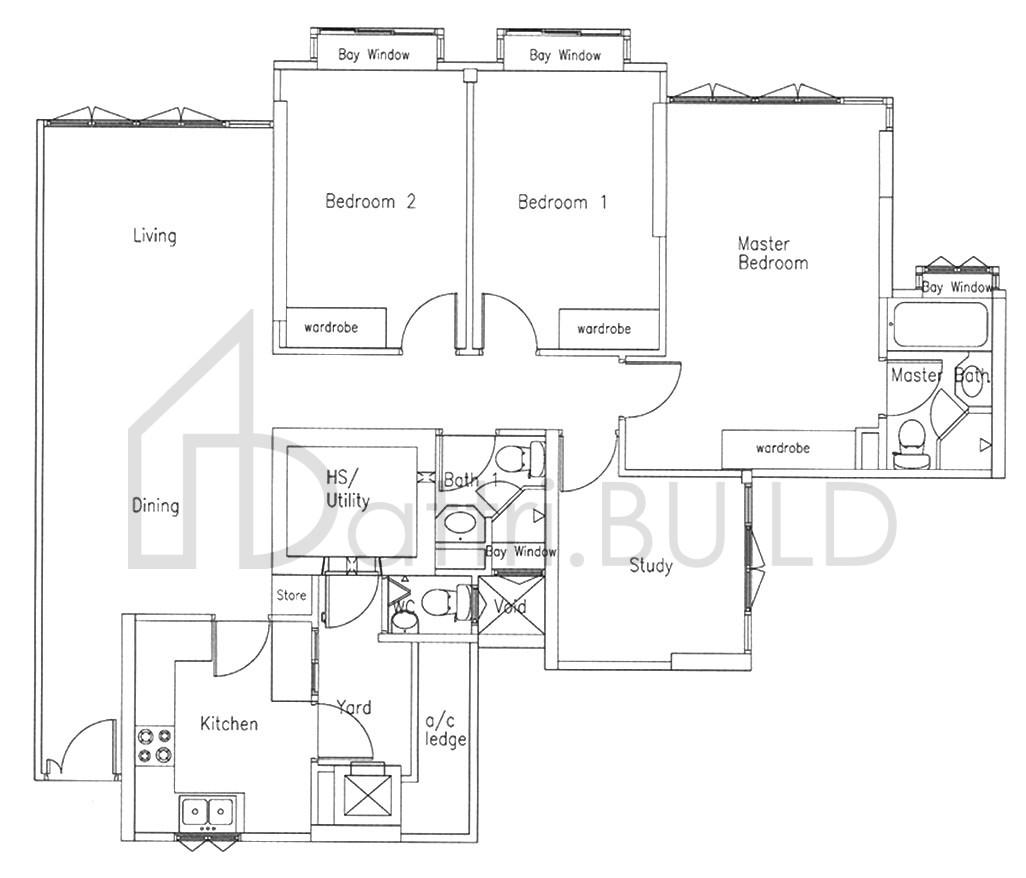 Bishan Loft 3 Bedroom Type B1